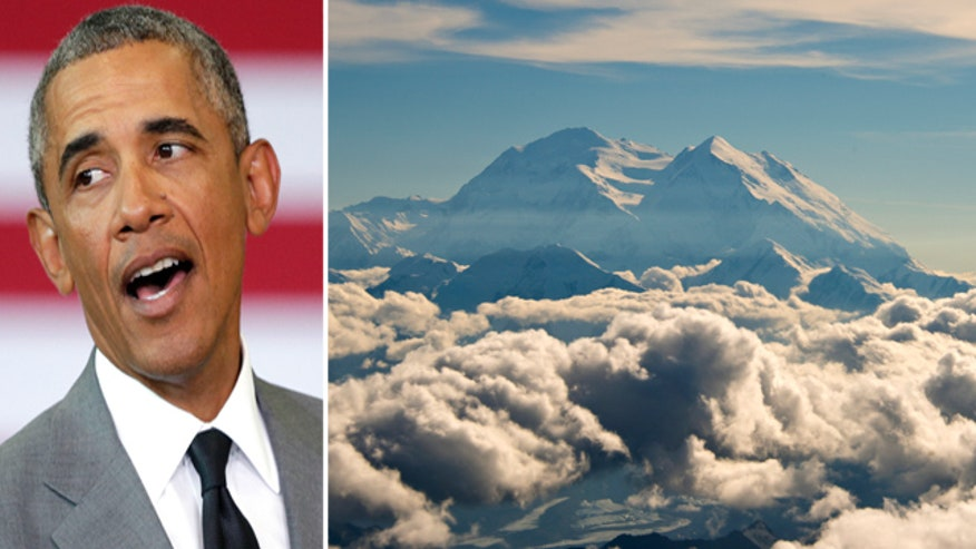 President to rename Mt. McKinley to 'Danali' during Alaska visit