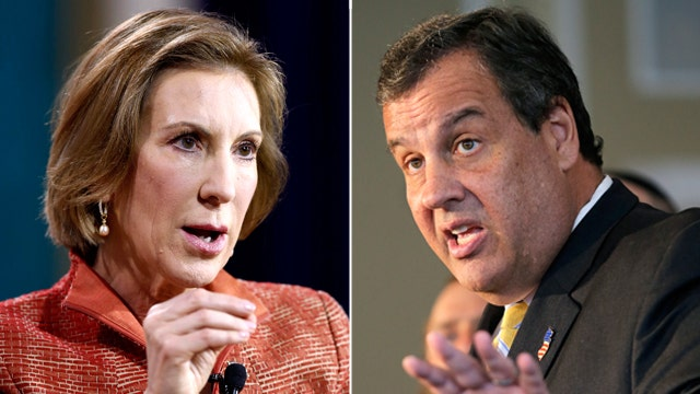 Christie, Fiorina battle last spot in next GOP debate