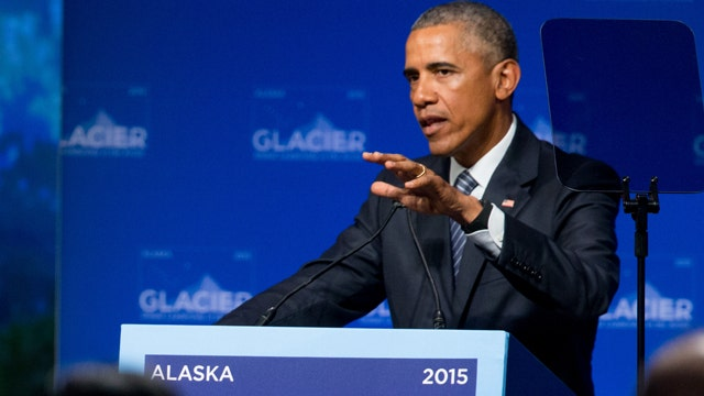 President Obama in Alaska to push climate change message
