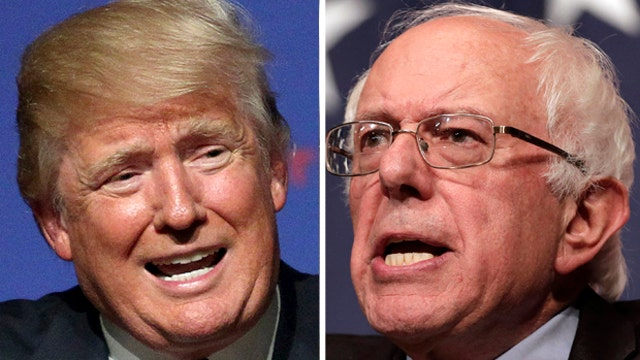 Bias Bash: Trump and Sanders cast as two sides of same coin