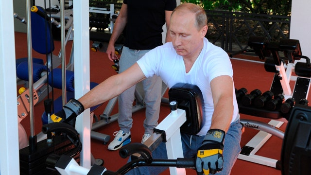 Can Putin bulk up his popularity with workout videos?