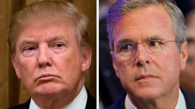Trump, Bush release tough attack ads on immigration