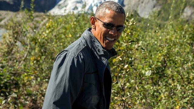 Obama pushes for climate change initiatives on Alaska tour