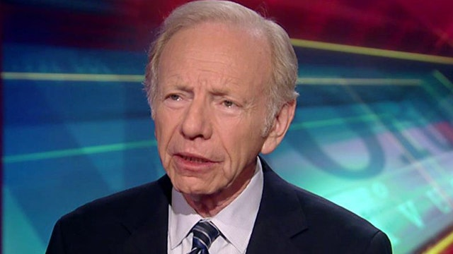Former senator Lieberman on efforts to stop the Iran deal