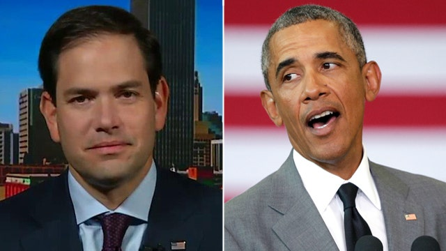 Rubio reacts to Obama securing votes to protect Iran deal
