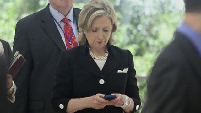 What are legal implications of Clinton's classified e-mails?
