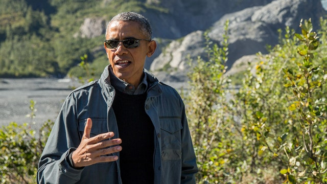 Obama pushes global warming agenda in Alaska