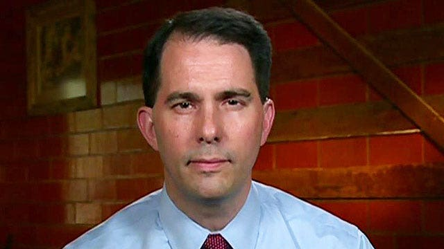 Scott Walker: We need to stand up for law enforcement