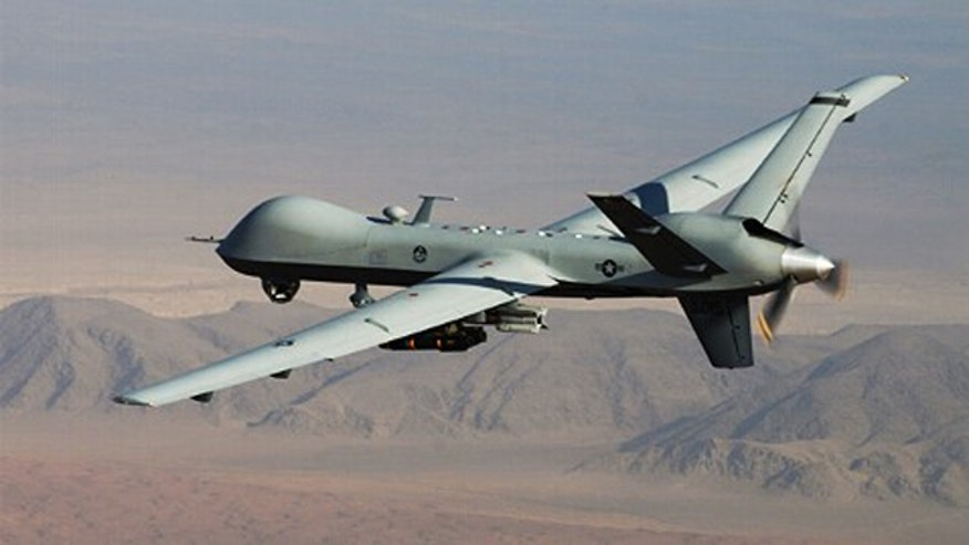 Drone program independent of U.S.-led coalition