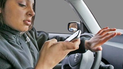 State troopers are hiding in plain sight as they try to recapture the attention of distracted drivers.