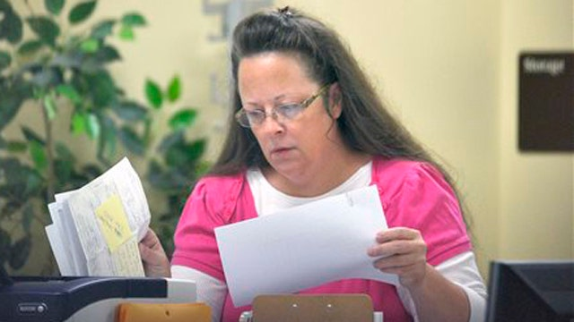 Federal judge to hear county clerk's same-sex marriage case