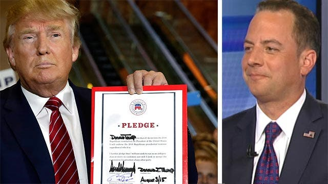 Inside the 'pledge meeting' with Donald Trump