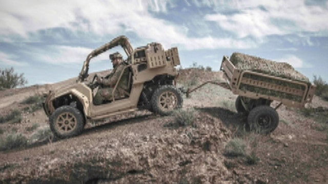 War Games: Cutting-edge ATVs heading to US special ops