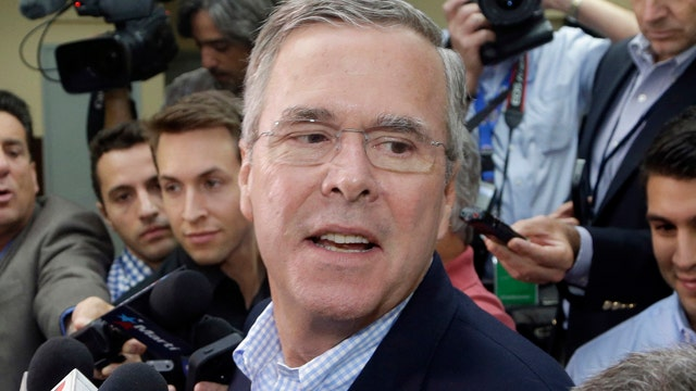 Your Buzz: Jeb Bush, drowned out