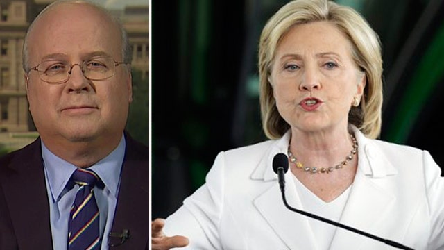 Rove: Clinton support weakening, could lose Iowa and N.H.