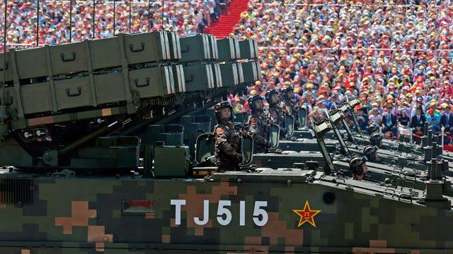 A look at China's extravagant military parade