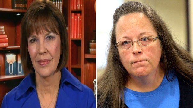 Judy Miller: Ky. clerk should be fired, not jailed
