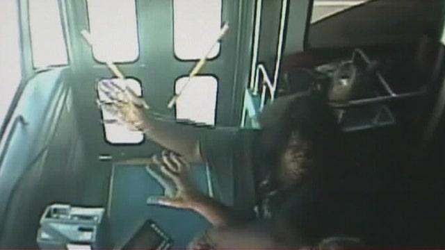 Florida bus driver suspended when passenger attacks him