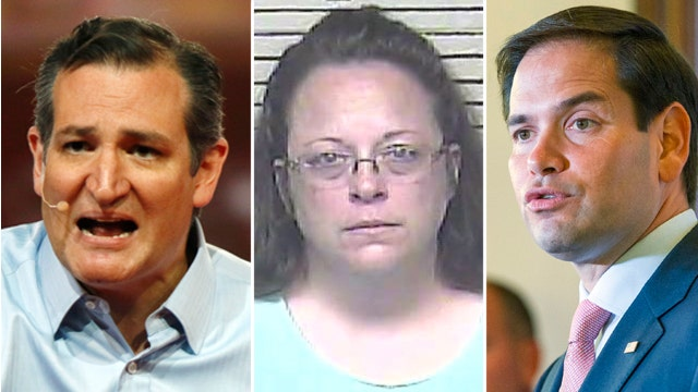 Rubio, Cruz stand behind Kentucky clerk