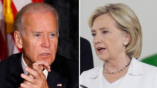 Will Clinton's sinking favorability boost a Biden run?