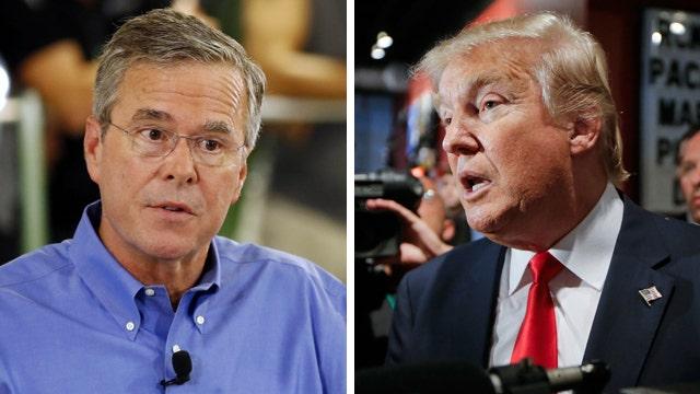 Trump-Bush feud heats up ahead of 2016