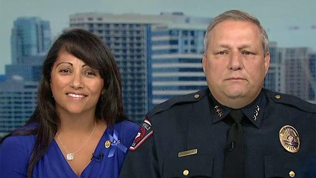 Texas woman starts movement to honor law enforcement