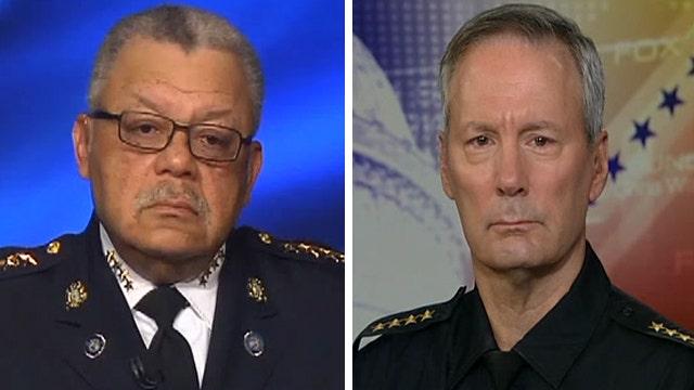 Exclusive: Top cops talk targeting of law enforcement