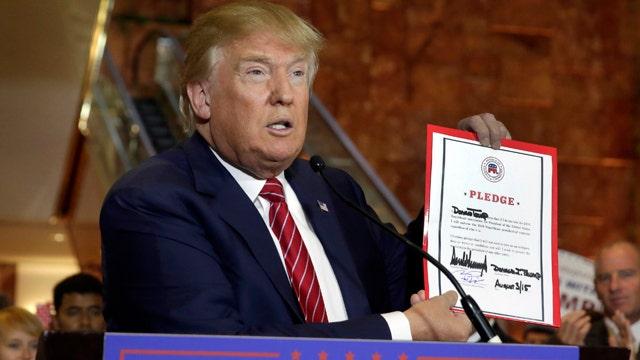 Donald Trump's 'loyalty' show