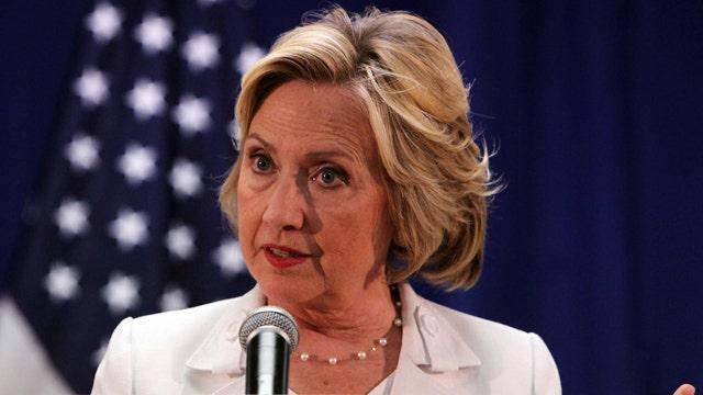 Hillary's MSNBC showdown