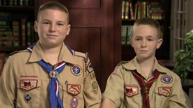 Boy Scouts start movement to honor police