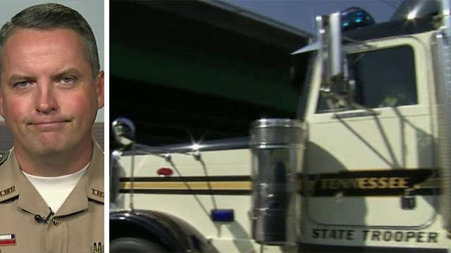 Tennessee troopers use truck to nab texting drivers