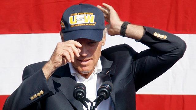 Joe Biden teases presidential bid at Labor Day parade