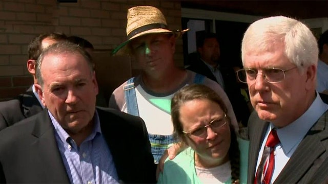 How Kim Davis is turning into a campaign issue