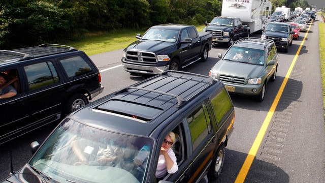 Labor Day traffic on the rise