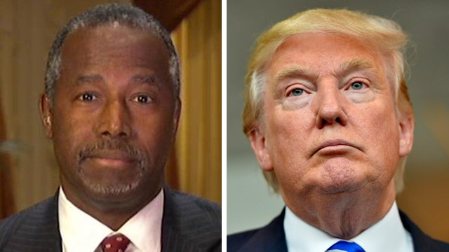 Ben Carson fires back at Donald Trump's job creation remark