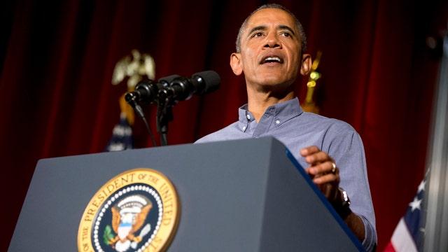 Police group boycotts President Obama's Labor Day speech