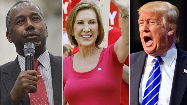Trump, Fiorina, Carson: Outside the Beltway
