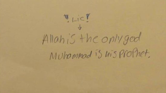 School's writing assignment on Islam has parents angry