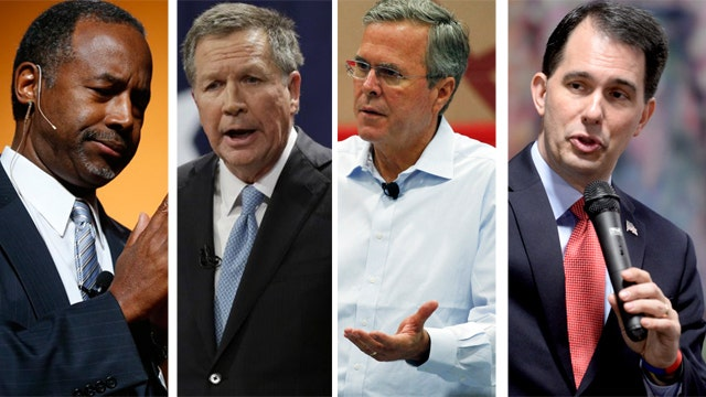 Carson, Kasich advance in polls while Bush, Walker fall