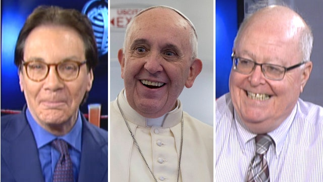 Alan Colmes vs. Bill Donohue: Is the Pope too liberal?