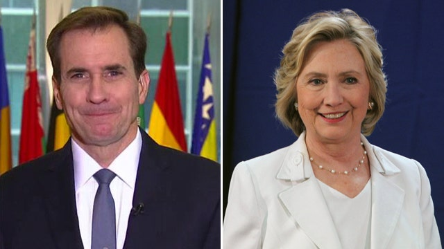 Rear Adm. John Kirby on Hillary Clinton's e-mails, Iran deal