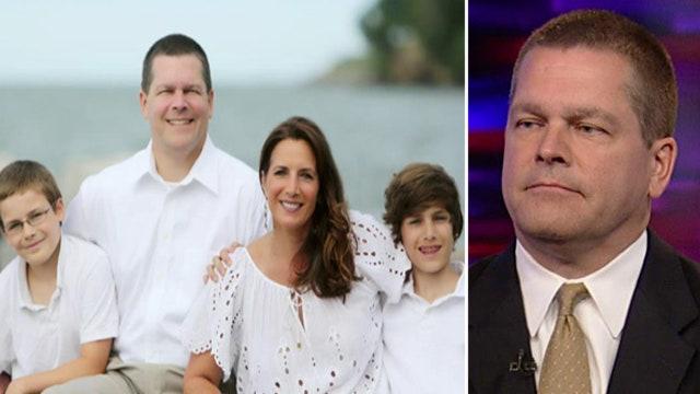 Husband of late TV reporter advocates aneurysm awareness