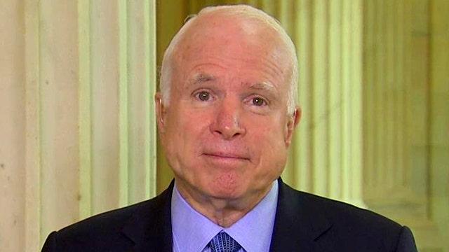 McCain blames failed White House policies for refugee crisis