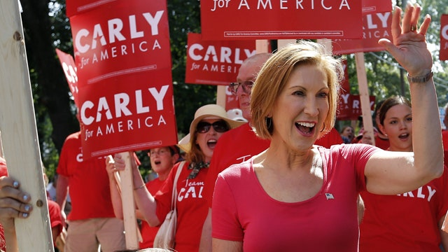 Your Buzz: Carly Fiorina's Hillary praise