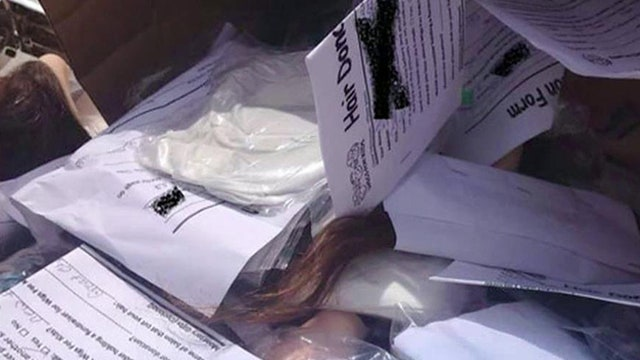 'Wigs for Kids' donations found in trash