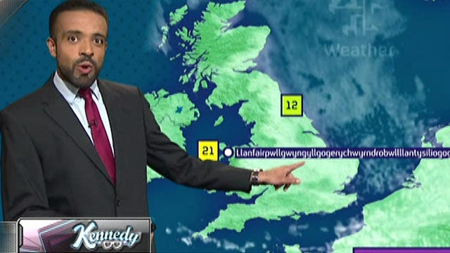 Kennedy's Topical Storm: Weatherman Win