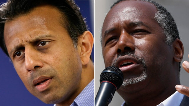 GOP candidates for president seek traction against Trump
