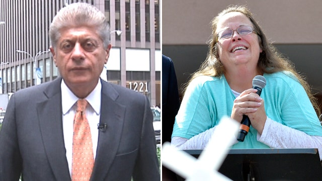 Napolitano on Kim Davis, religious belief and rule of law