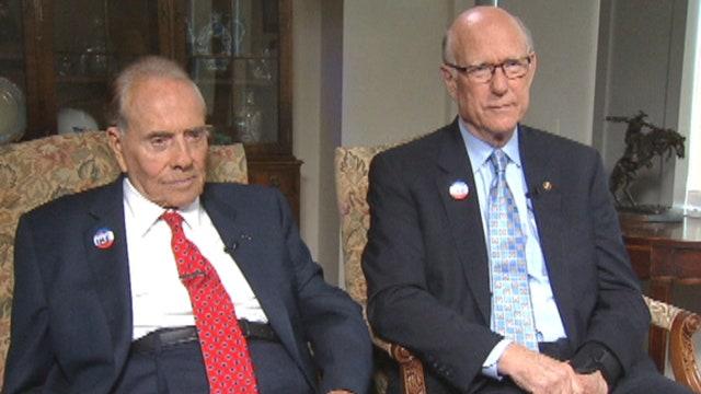 Uncut: Dole-Roberts quest to honor Eisenhower