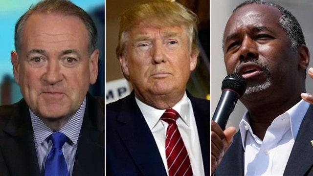 Huckabee weighs in on faith debate in GOP primary race